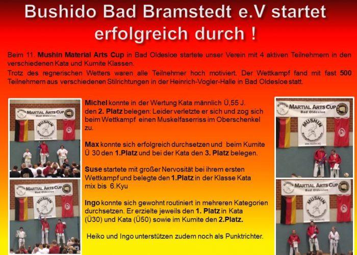Bushido Bad Bramstedt e rot gelb
